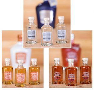 Real Gin Pack 3 Miniaturas 10 cl