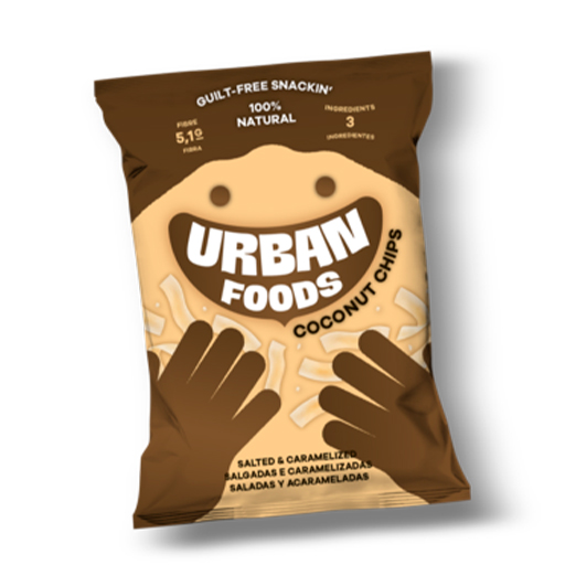 Coconuts Chips - Urban Foods - Ria Gourmet